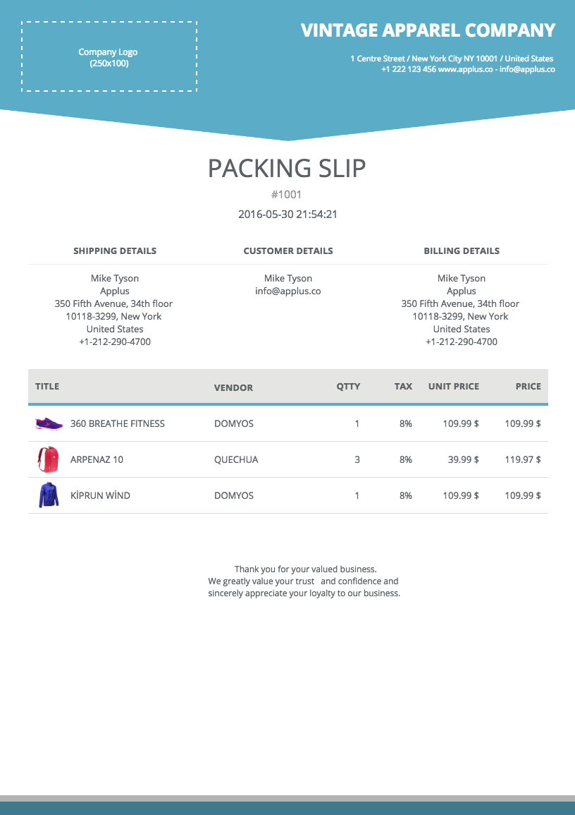 PACKING SLIP. View Details  Free Packing Slip Template